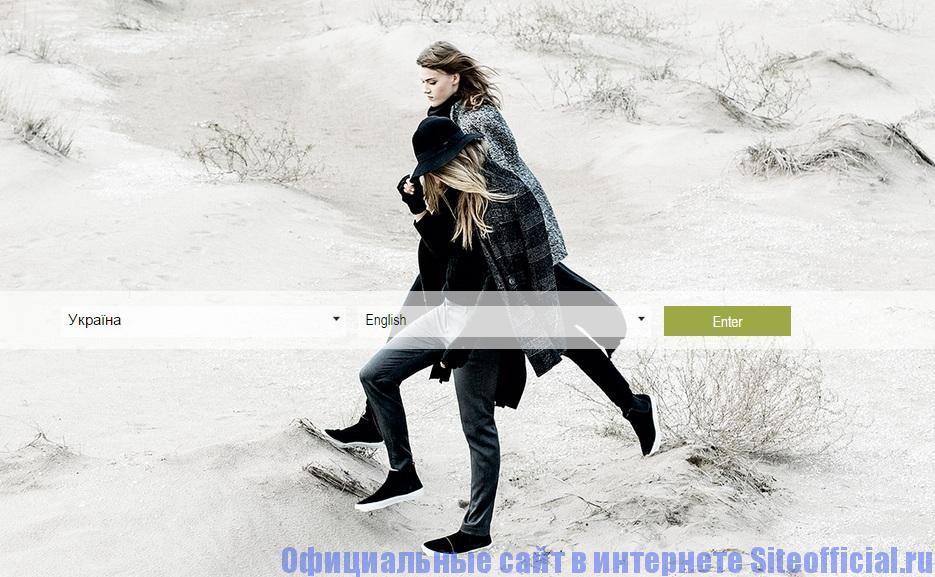 Официальный сайт Страдивариус - Главная страница