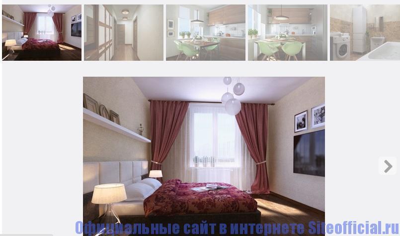 Официальный сайт РосСтройИнвест - Отделка квартир