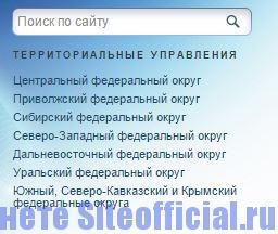 Официальный сайт Росаккредитация - Территориальные управления