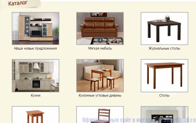 Боровичи мебельная фабрика официальный сайт - Каталог