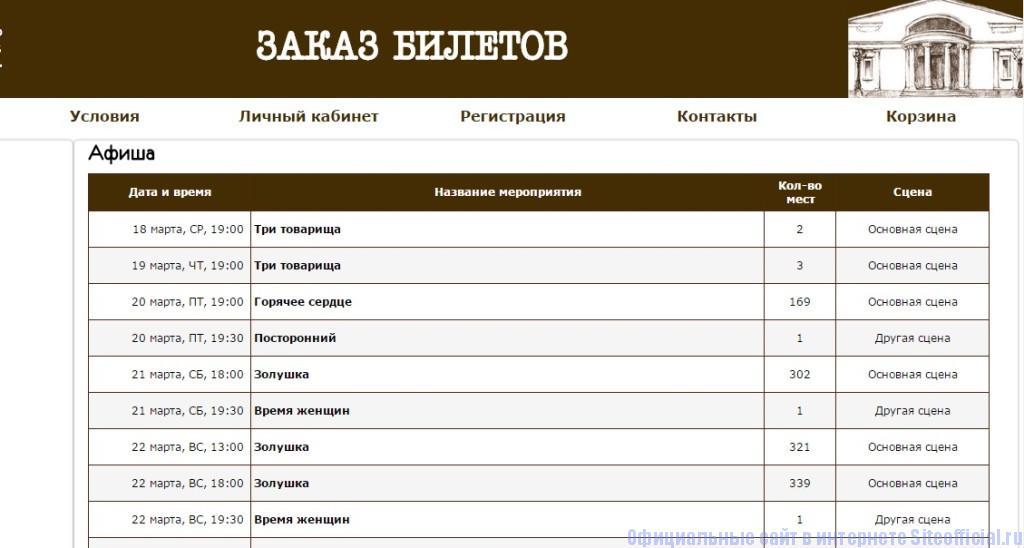 Современник официальный сайт - Заказ билетов