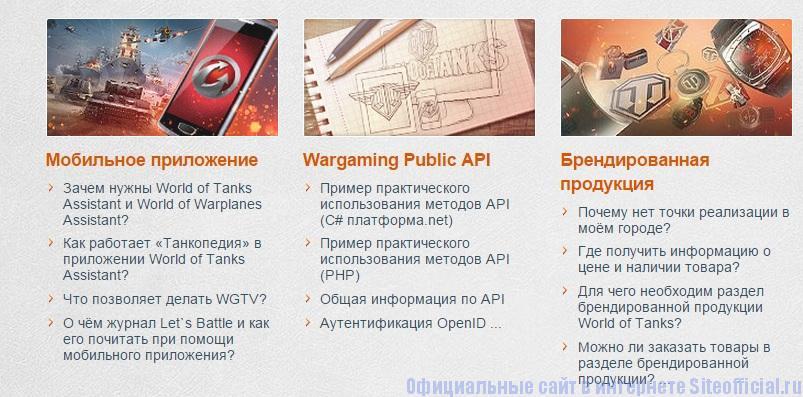 Wargaming net официальный сайт - Поддержка