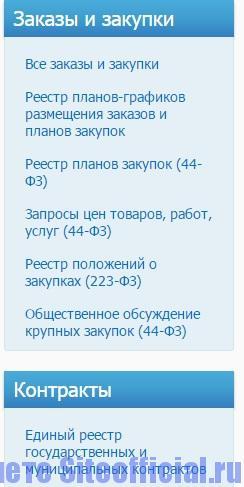 Закупки ГО ВРУ официальный сайт - Заказы, закупки, контракты