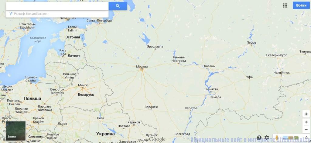 Гугл.ру - Google Maps