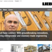 Либхер официальный сайт - Главная страница