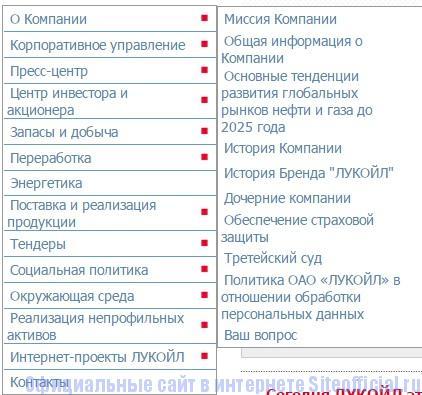 Лукойл официальный сайт - О компании