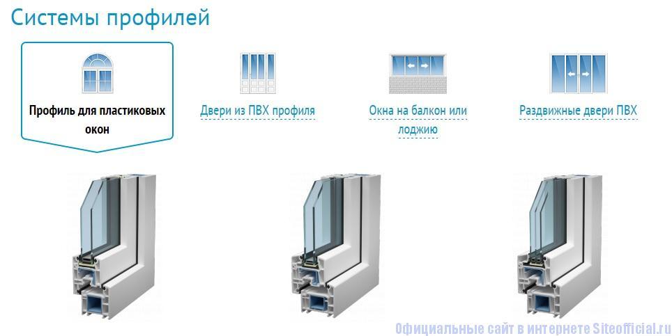 Века официальный сайт - Системы профилей