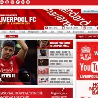 Ливерпуль официальный сайт - Главная страница