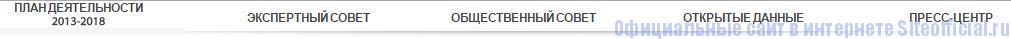Росалкогольрегулирование официальный сайт - Вкладки