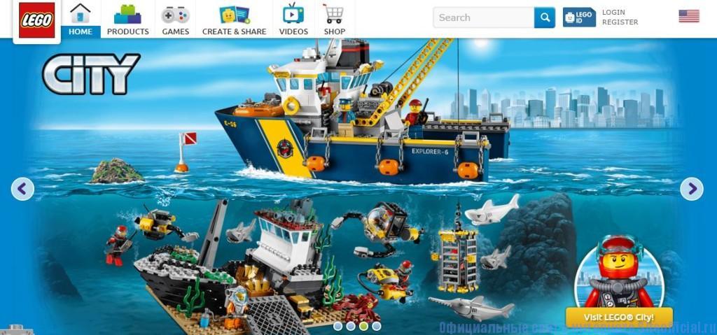 Лего интернет магазин официальный сайт - Главная страница