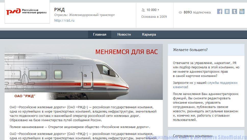 Профессионалы ру - Описание компании