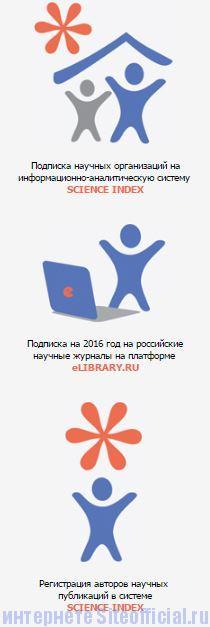 Елайбрари ру официальный сайт - Вкладки
