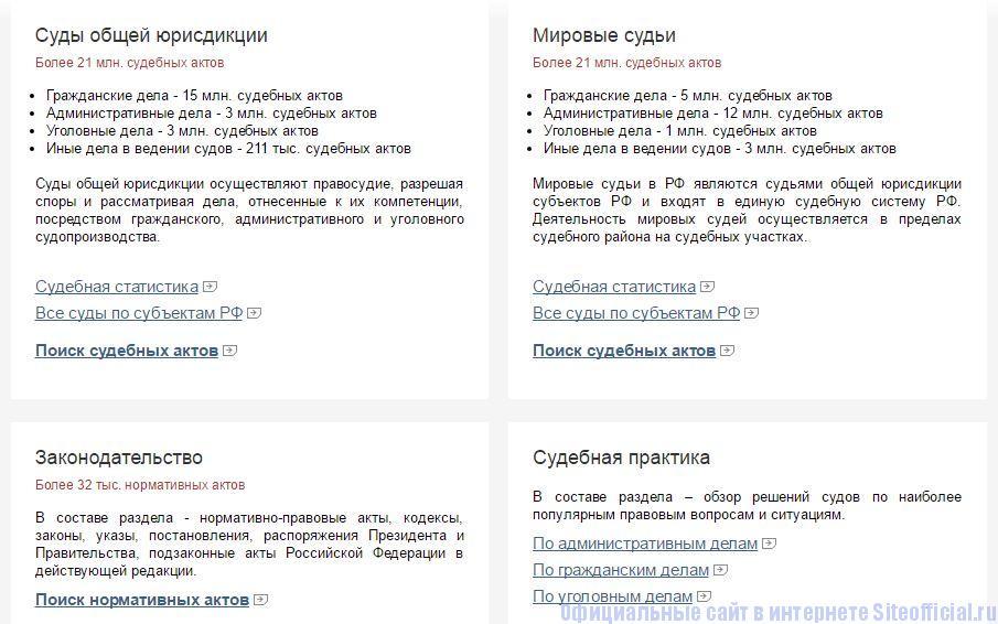 Судакт ру официальный сайт - Вкладки
