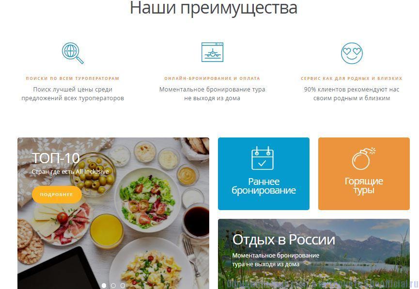 Травелата официальный сайт - Вкладки