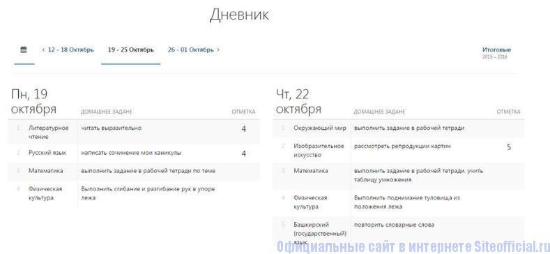 АИС Образование Электронный дневник