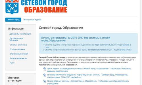 netcitycheb ru - Сетевой город. Образование