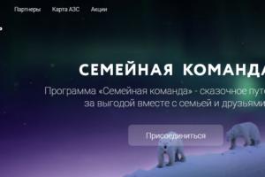 Программа лояльности от Роснефть