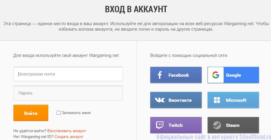Анкета пользователя личного кабинета Протанки