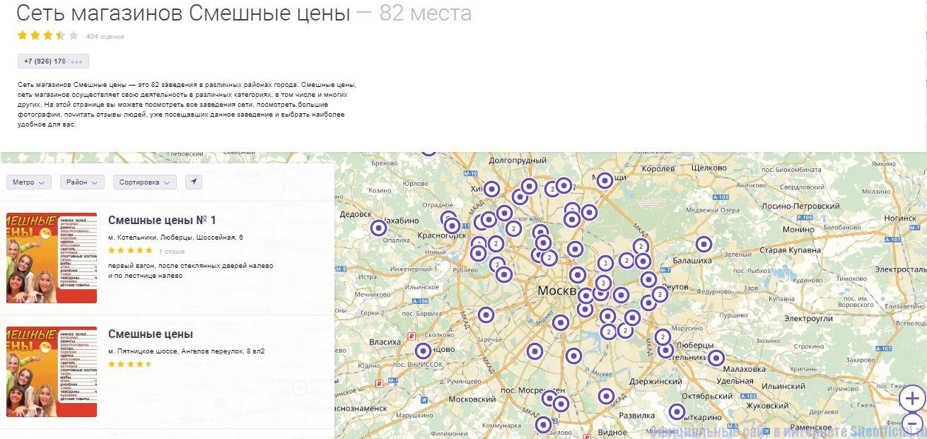 Сайт Адреса Магазинов