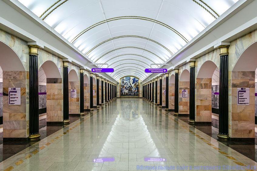 """Станция метро """"Адмиралтейская"""""""