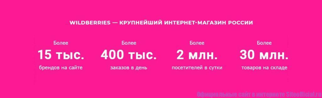 Вайлдребизз - крупнейший интернет магазин России